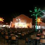 Disco, sports bar, karoke, shops and nightly entertainment