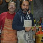 Walter and Marcello-great hosts!