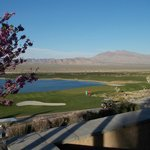 LV Paiute - View from reception room.