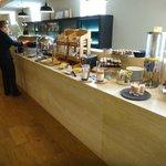 Restaurante - café da manhã (outra vista).