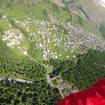 voo de parapente em Zermatt