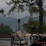 evening tea at balcony