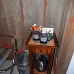 Coffee and tea in room