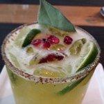 Donaji cocktail with Chapulin salt