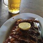 Bintang beer to wash down the yummy ribs
