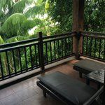 Spacious balcony from Superior Room