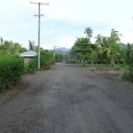 Walking into Apia from Taumesina