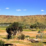 balcony view of West MacDonnell Ranges