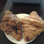 butter croissant and Chocolatine !