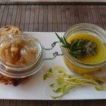 foie gras au chutney d'oignon