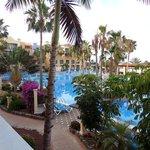 Hotel top pool
