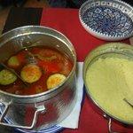 Bouillon et couscous irréprochables