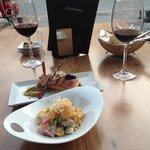 18 mai 2015 - sea bass ceviche & salmon