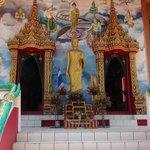 Main front doors into tempel