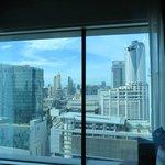 The skyline from my room on 20th Floor