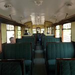 GWR Railcar 22's interior