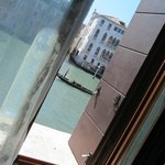 View from our room on to the Grand Canal