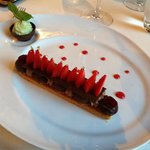 St Honoré aux fraises et chocolat
