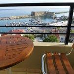 from Superior Room balcony-Venetian Fortress