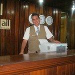 recepcion en el hotel colonial