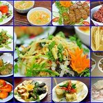 Vegan dishes in An Phuc