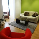 Green Apartment - Sala de estar