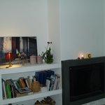 Detalle de una de las salas de estar