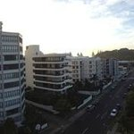 panoramic view of Mt Maunganui from The Beaumont
