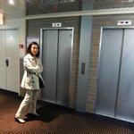 ホテル アポジア ニース ・・・エレベーター二基完備は嬉しい