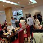 ホテル アポジア ニース ・・・朝食レストラン