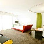 living Juniior Suite 422 at Hotel Ripa Roma