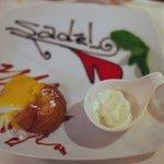 White Chocolate Fondant at Sade, Kalkan