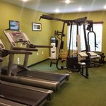 Gym room. Nice and accommodating