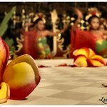 Balinese children  and traditional dance