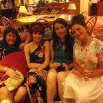 bridesmaids night before