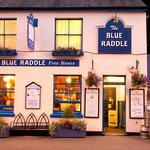 The Blue Raddle, picture shot on a warm summer's eve.