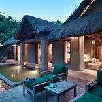 Lagoon Villa private deck