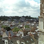 Amboise view of chateau