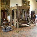 Amboise royal bedroom