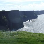 The nearby Cliffs of Moher