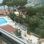Pool and balconys