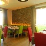 la sala da ristorazione