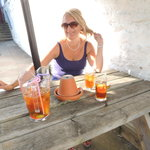 Pims in the Garden of the G&D