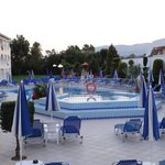 Baby pool/sunbeds (early evening)
