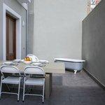 Terraza con comedor