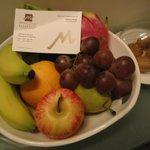 Fruit on arrival