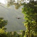 Superman Zipline - yay!