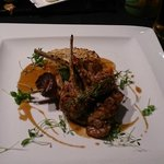 Lamb cutlets at Cilantro