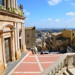 Santa Maria del Monte and view over Caltagirone