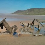 Another wreck on Rhossili beach